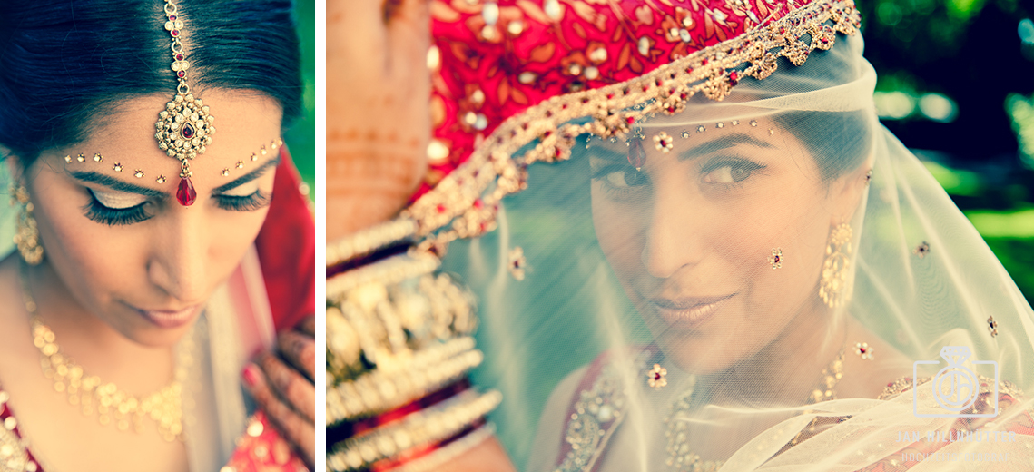 Bollywood-Braut-Schleier-Kopfschmuck