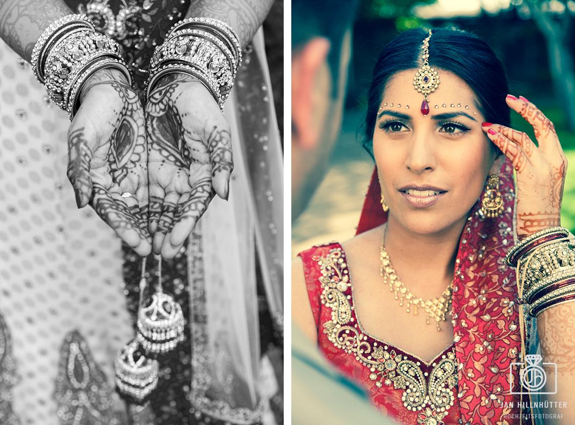 Bollywood-Braut-deutsch-indische-Hochzeit-Henna-Tattoo-Schmuck-Schleier