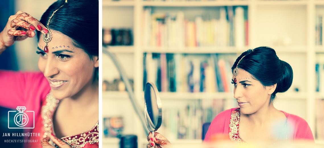 Braut-Bollywood-Hochzeit-Portrait-deutsch-indisch-Schmuckdetails