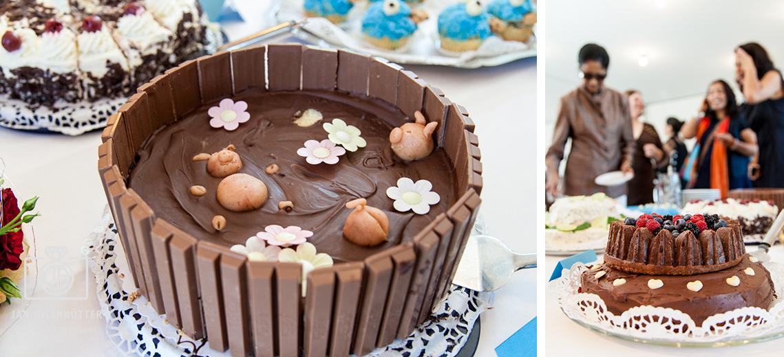 Schoko-Schweine-Torte-Bollywood-Hochzeit