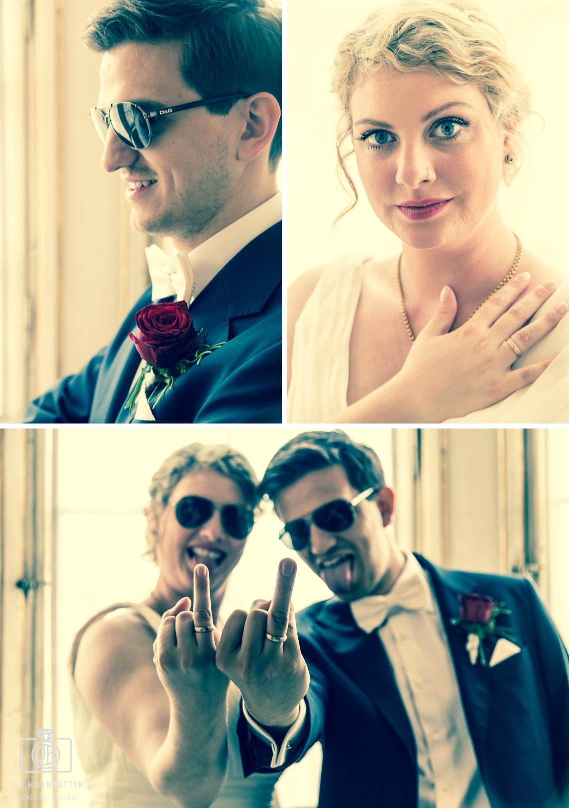 Ausgefallenes-Hochzeitsfoto-Brautpaar-Schlosshotel-Weilburg