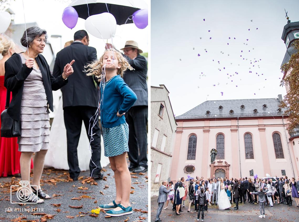 Luftballons-Hochzeit-Mainz-Bretzenheim-Kirche