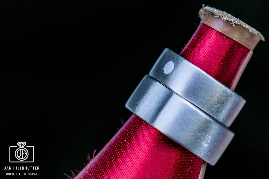 Kreatives-Ringfoto-Hochzeitsringe