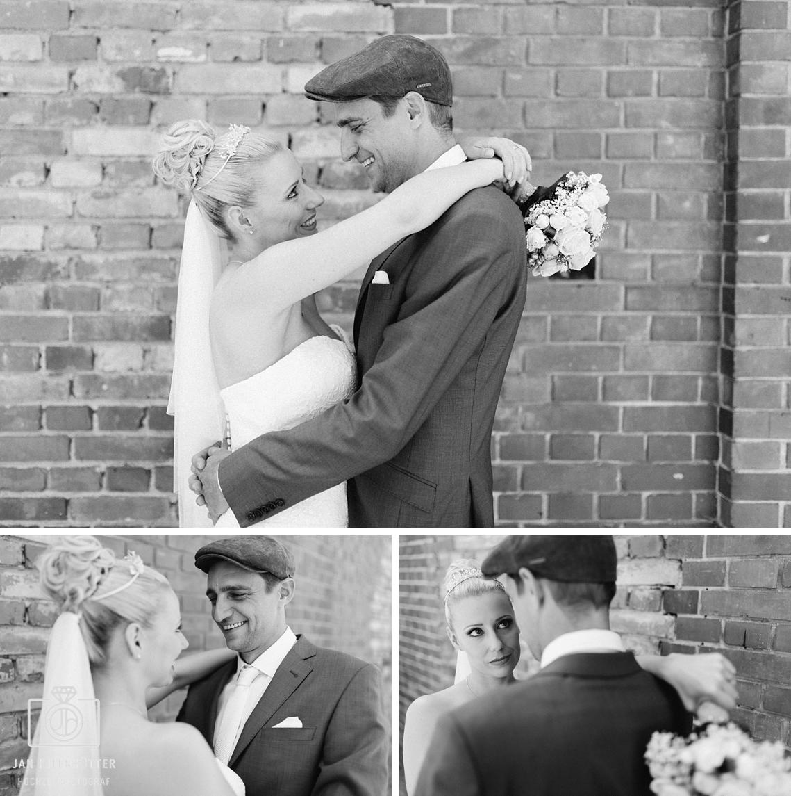 Vintage-Hochzeit-SW-Hochzeitspaar-Brautpaar-romantisch