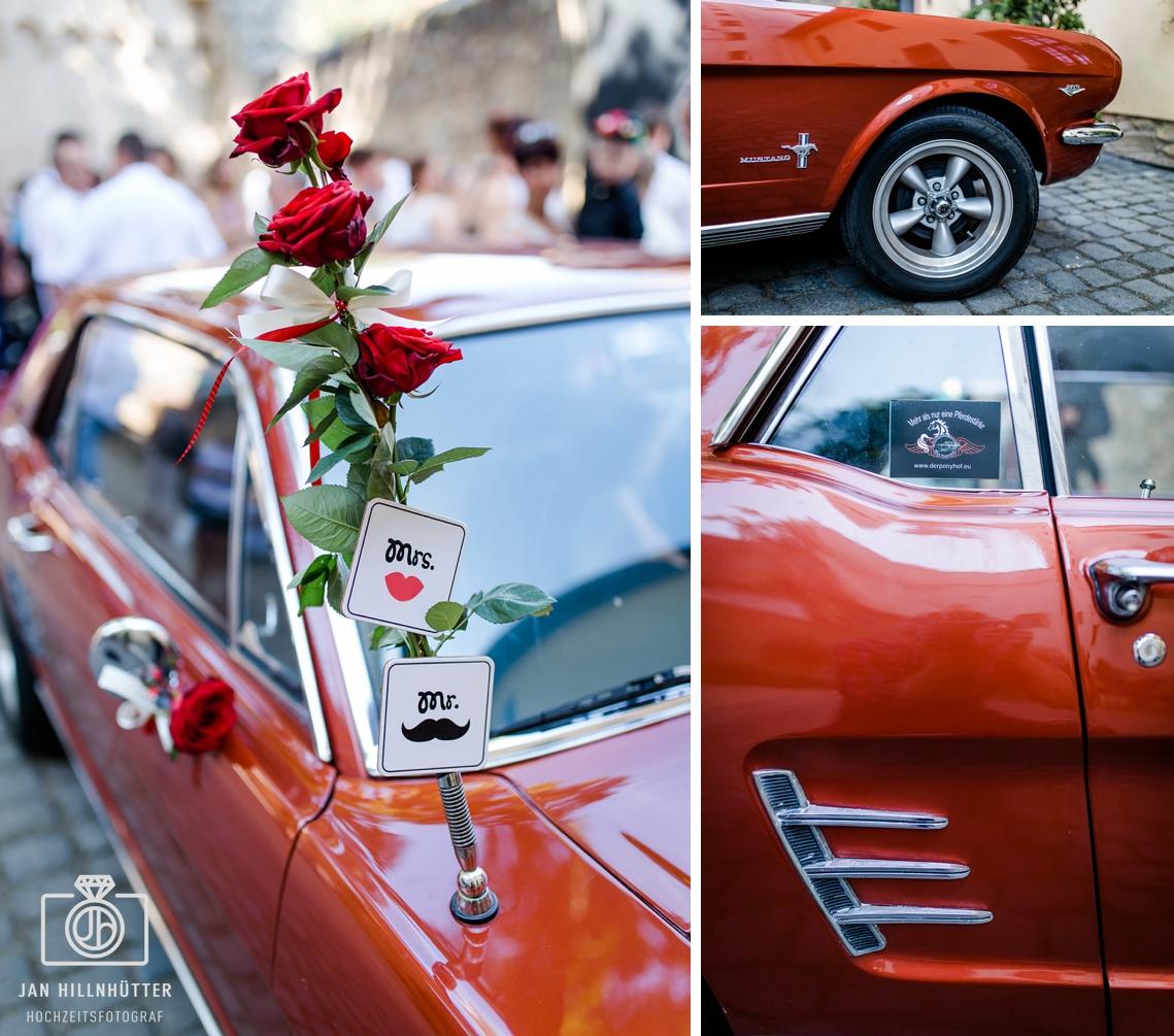 Ford-Mustang-Rockabilly-Hochzeit