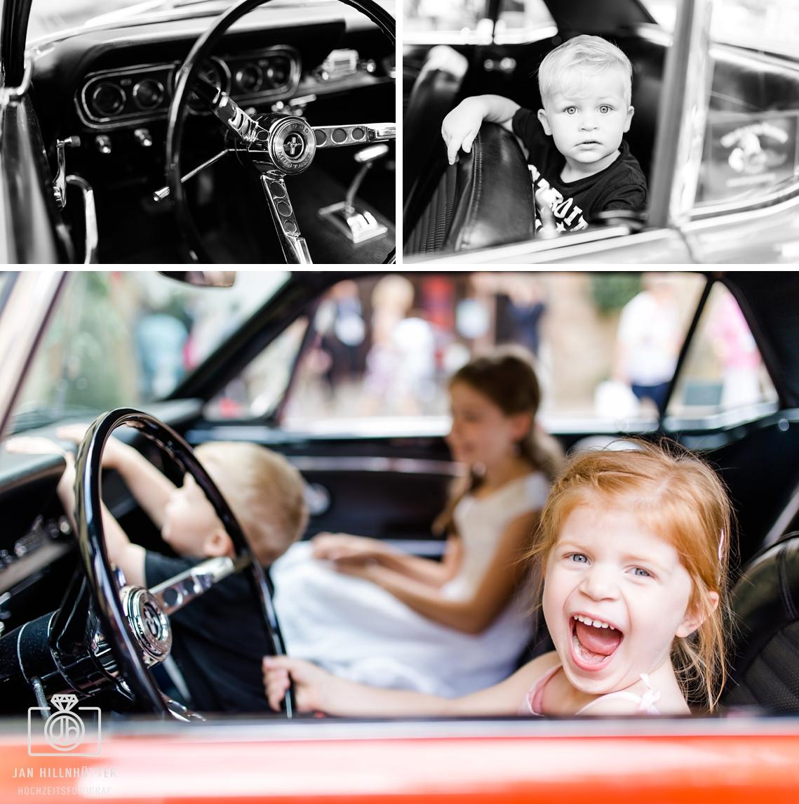 Kinder-Spass-Ford-Mustang-Rockabilly-Hochzeit