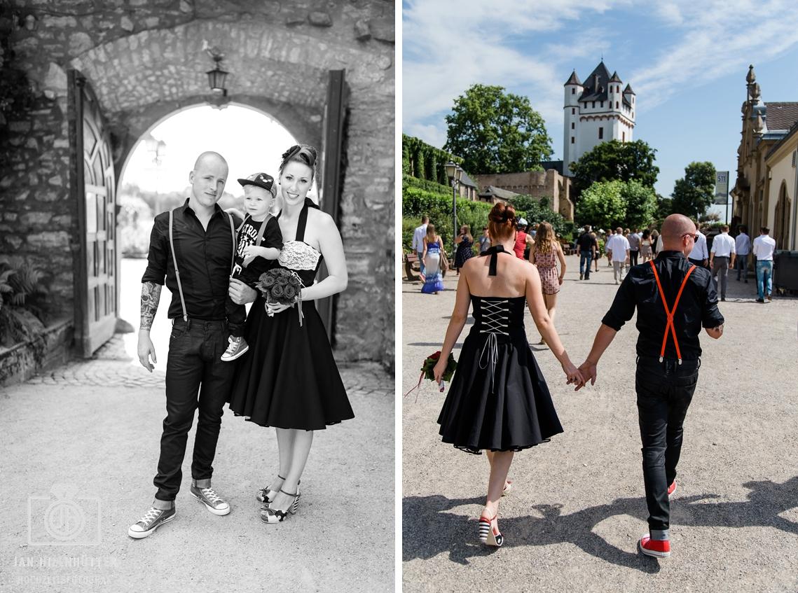 Rockabilly-Familie-Burg-Eltville-Hochzeit