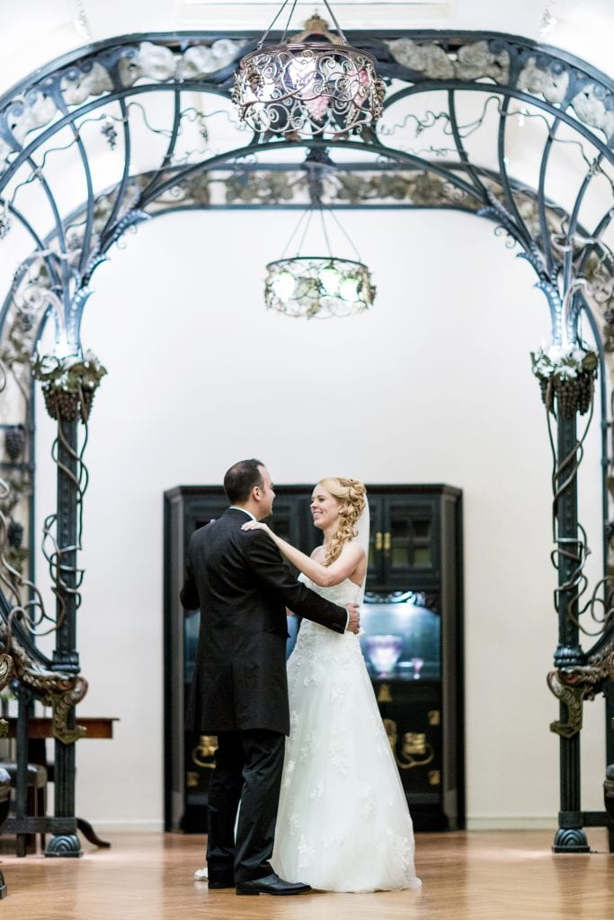 Hochzeitsfotograf Mainz Traubensaal Hochzeitspaar Kupferbergterrasse
