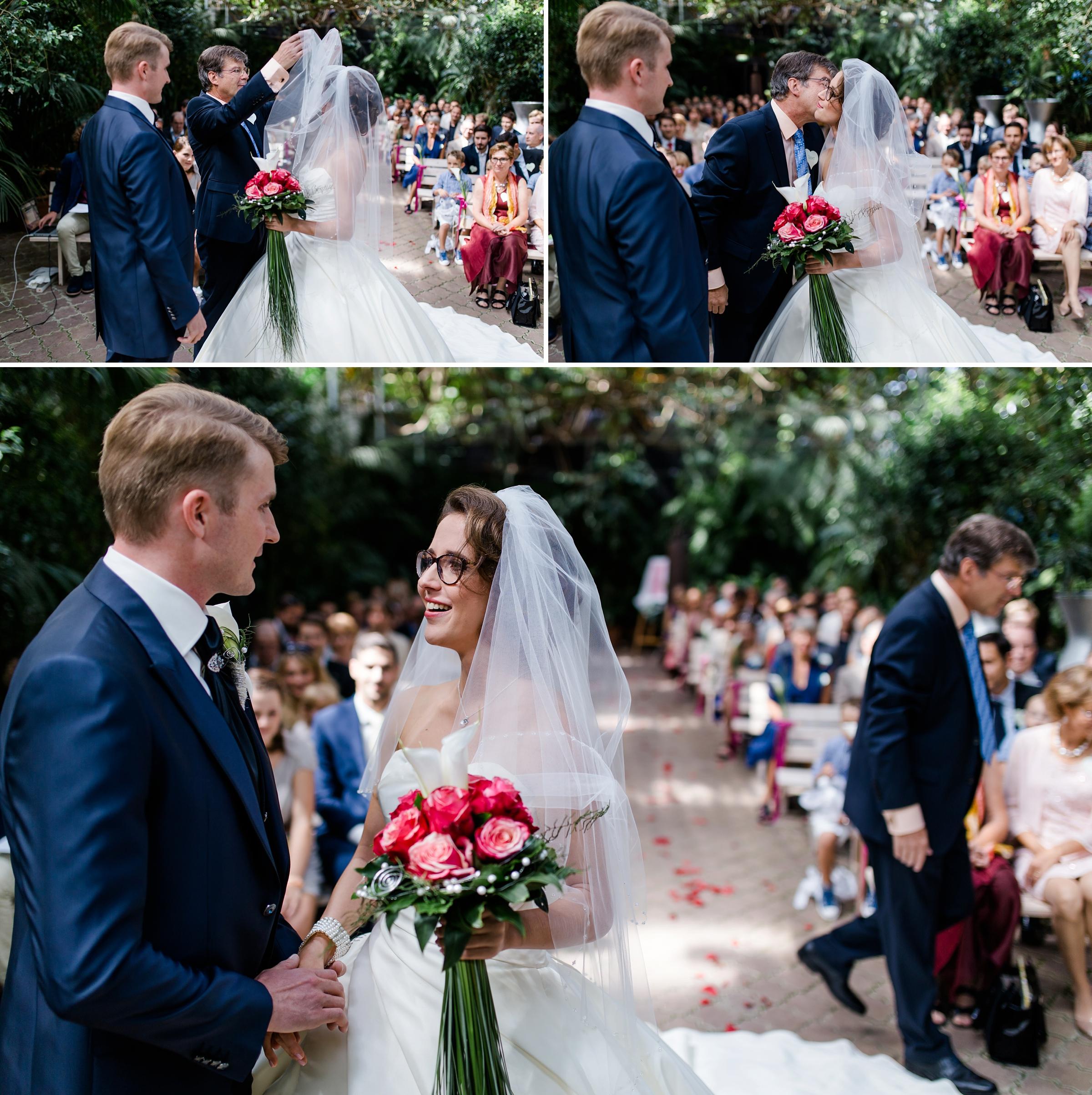 Hochzeitsfotograf-Zuerich-Erster-Blick-Brautpaar-Giardino-Verde-Uitikon