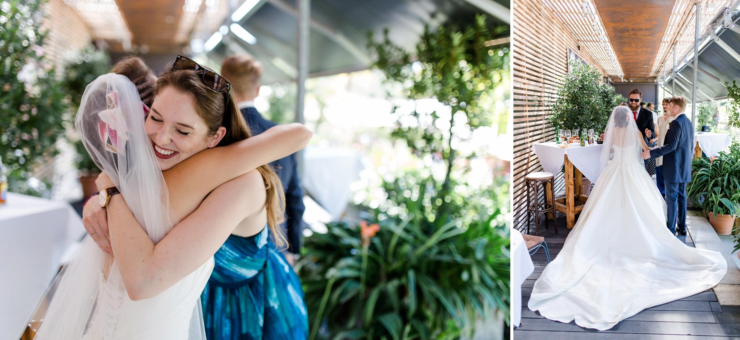 Hochzeitsfotograf-Zuerich-Giardino-Verde-Gaeste-gratulieren
