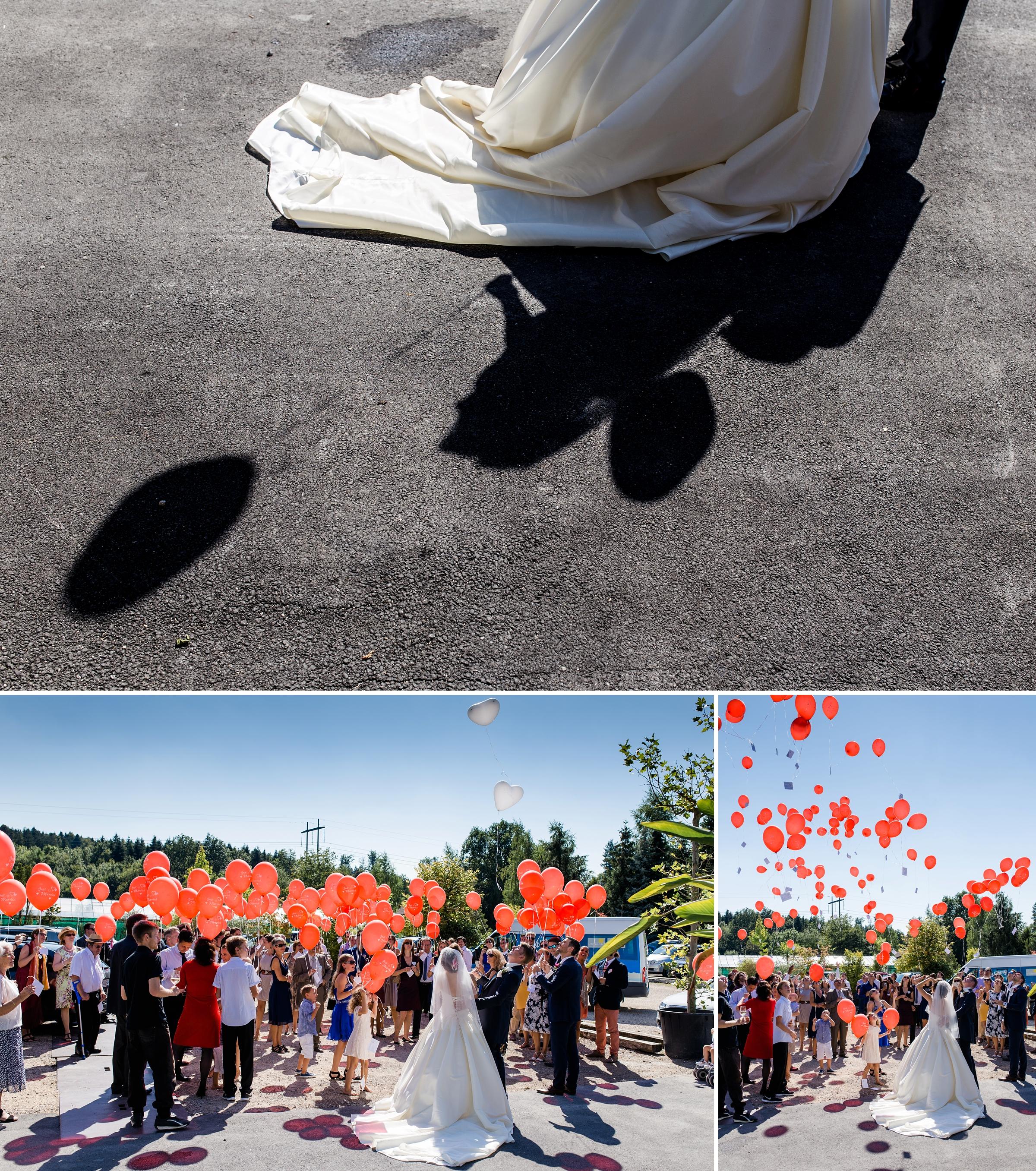Hochzeitsfotograf-Zuerich-Luftballons-steigen-lassen-Giardino-Verde-Uitikon