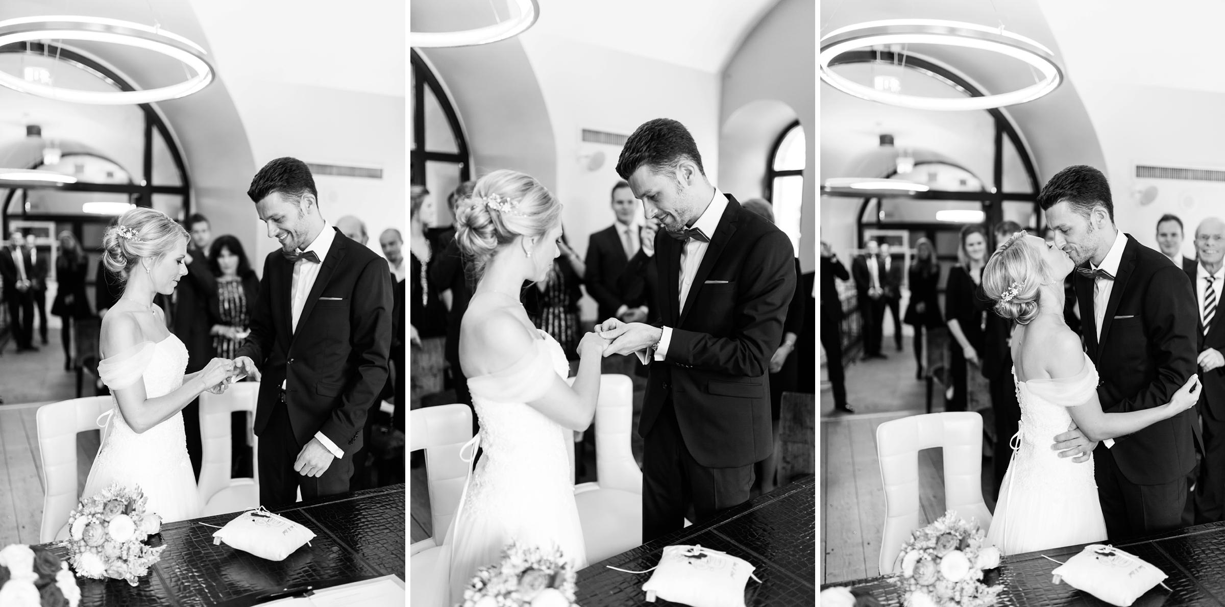 Hochzeitsfotograf-Mainz-Hyatt-SW-Ringetausch-Brautpaar