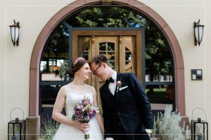 Judith und Adrian feiern Hochzeit im Grenzhof Heidelberg