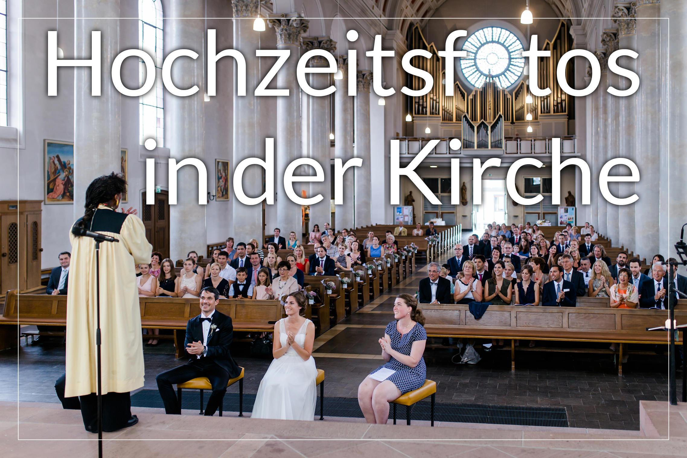 10 Tipps für perfekte Hochzeitsfotos aus Sicht eines Fotografen: in der Kirche sollten die Gäste keine Bilder schießen!