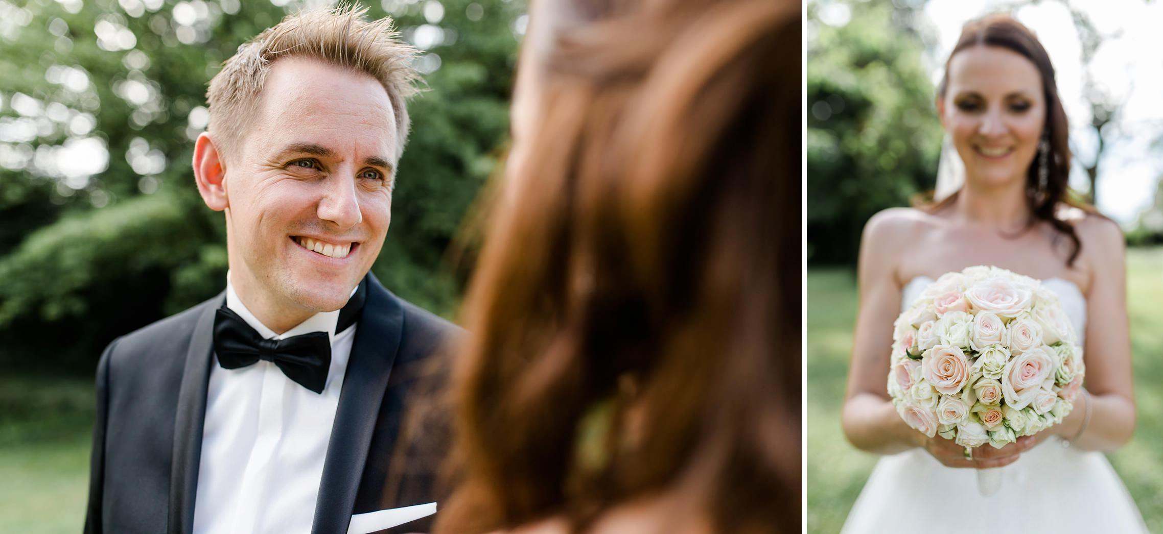 Portraitshooting mit Brautpaar