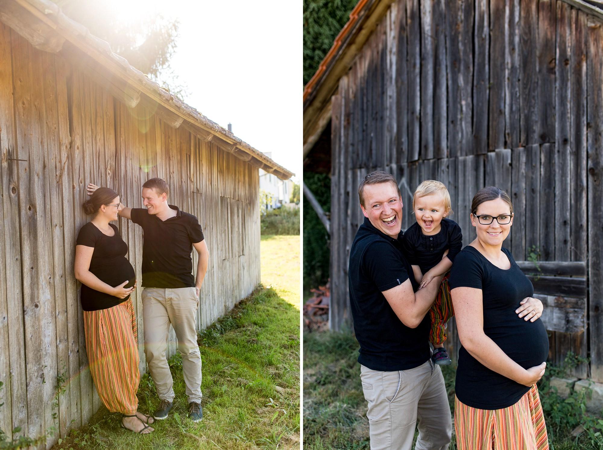 Familien-Schwangerschafts-Bilder