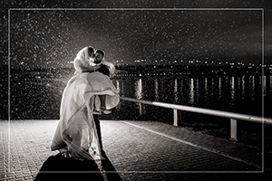 Hochzeitsfotograf Mainz am Rheinufer