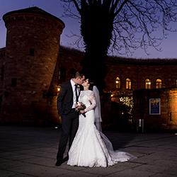 Hochzeitsfotograf Hyatt-Regency-Mainz Hochzeitspaar