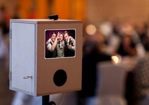 Fotobox-Kiste aus Holz